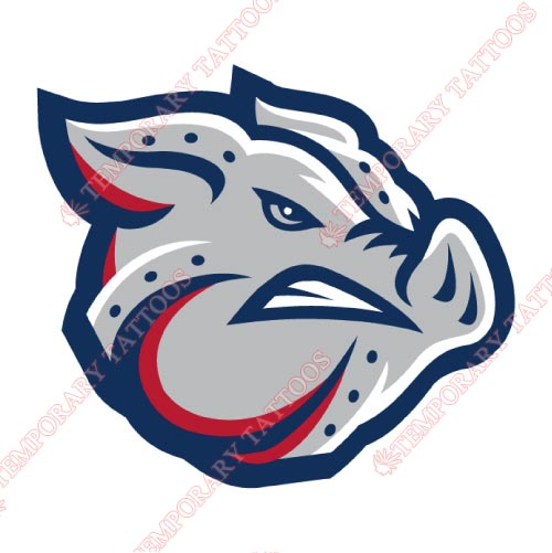 Lehigh Valley IronPigs Customize Temporary Tattoos Stickers NO.7980
