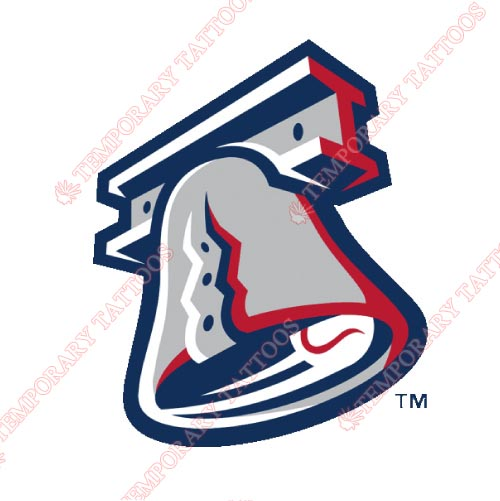 Lehigh Valley IronPigs Customize Temporary Tattoos Stickers NO.7981
