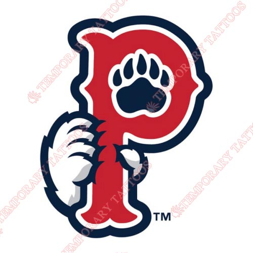 Pawtucket Red Sox Customize Temporary Tattoos Stickers NO.7992