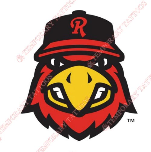 Rochester Red Wings Customize Temporary Tattoos Stickers NO.8002