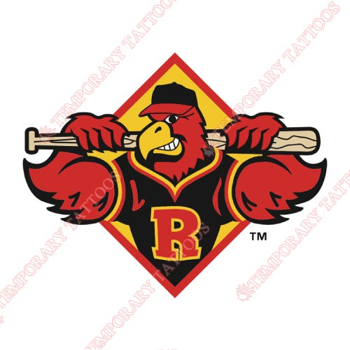 Rochester Red Wings Customize Temporary Tattoos Stickers NO.8003