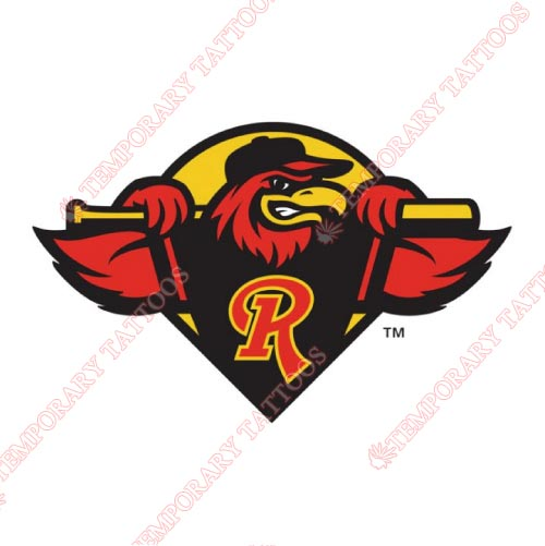 Rochester Red Wings Customize Temporary Tattoos Stickers NO.8007