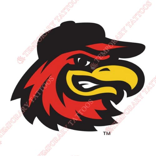 Rochester Red Wings Customize Temporary Tattoos Stickers NO.8009