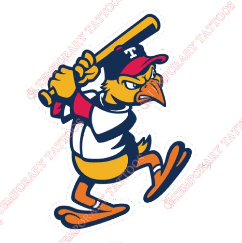 Toledo Mud Hens Customize Temporary Tattoos Stickers NO.8030