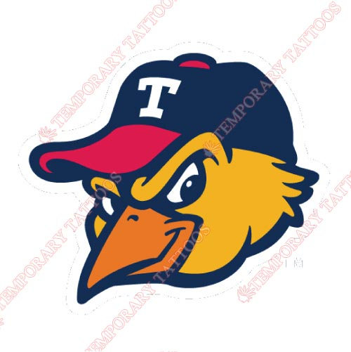 Toledo Mud Hens Customize Temporary Tattoos Stickers NO.8035