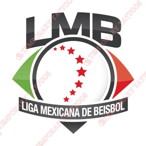 Liga Mexicana de Beisbol Customize Temporary Tattoos Stickers NO.8043