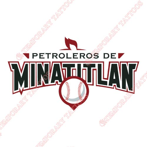 Minatitlan Petroleros Customize Temporary Tattoos Stickers NO.8049