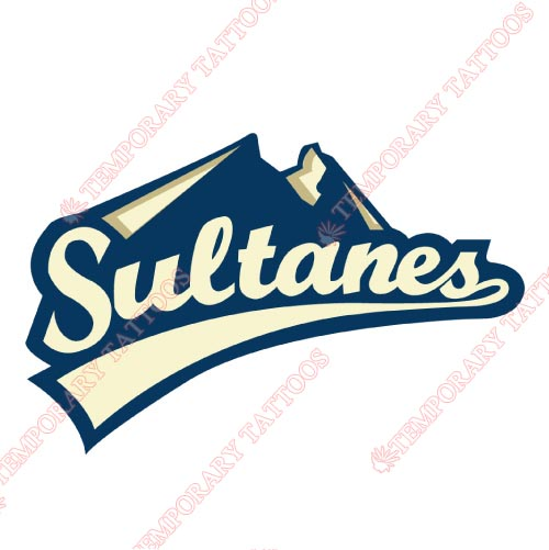 Monterrey Sultanes Customize Temporary Tattoos Stickers NO.8051