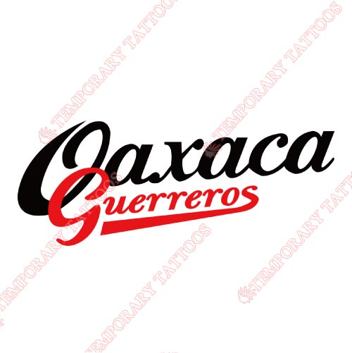 Oaxaca Guerreros Customize Temporary Tattoos Stickers NO.8054