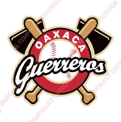 Oaxaca Guerreros Customize Temporary Tattoos Stickers NO.8055