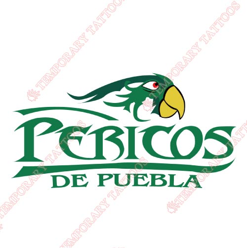 Puebla Pericos Customize Temporary Tattoos Stickers NO.8056