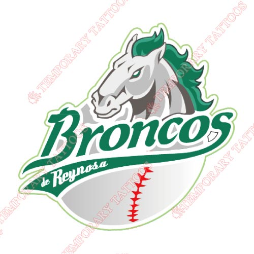 Reynosa Broncos Customize Temporary Tattoos Stickers NO.8058