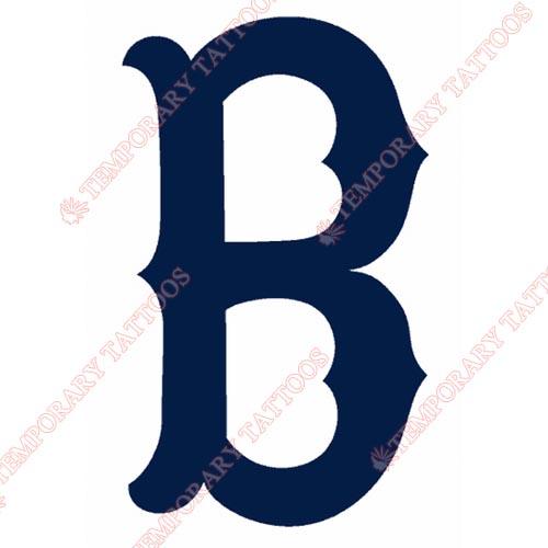 Boston Red Sox Customize Temporary Tattoos Stickers NO.1455