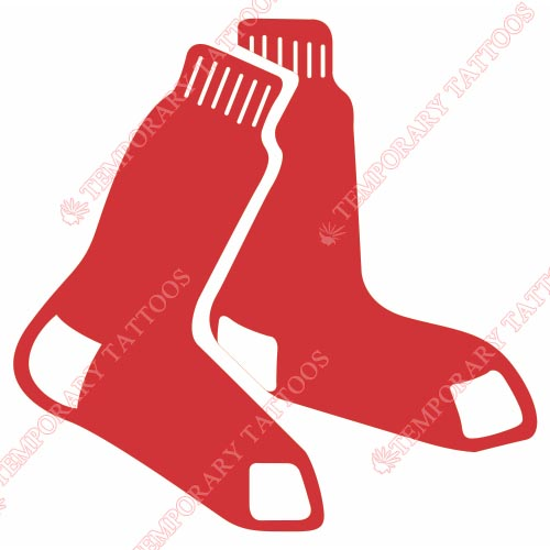 Boston Red Sox Customize Temporary Tattoos Stickers NO.1475