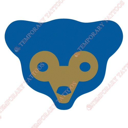 Chicago Cubs Customize Temporary Tattoos Stickers NO.1477
