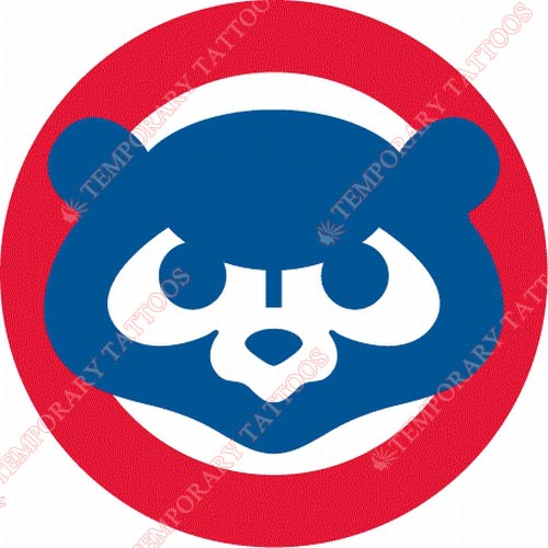Chicago Cubs Customize Temporary Tattoos Stickers NO.1478