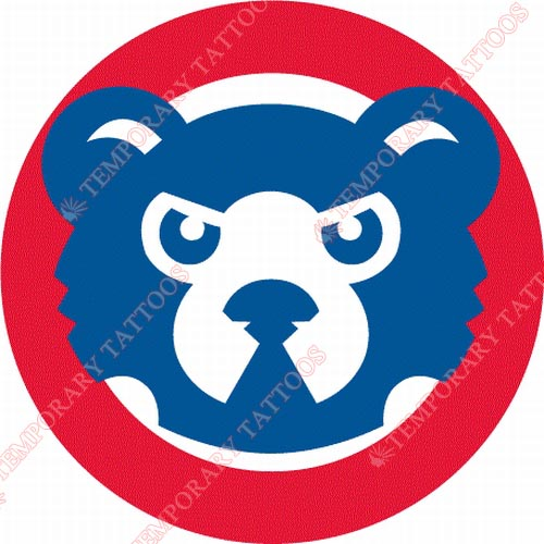 Chicago Cubs Customize Temporary Tattoos Stickers NO.1479
