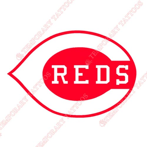Cincinnati Reds Customize Temporary Tattoos Stickers NO.1536