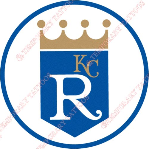 Kansas City Royals Customize Temporary Tattoos Stickers NO.1615