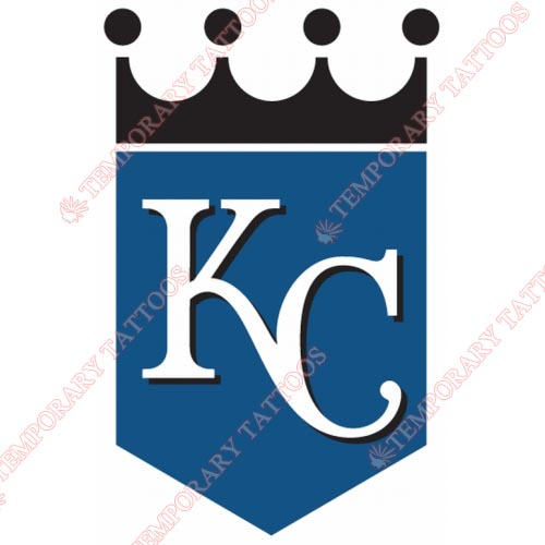 Kansas City Royals Customize Temporary Tattoos Stickers NO.1616