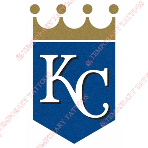 Kansas City Royals Customize Temporary Tattoos Stickers NO.1618