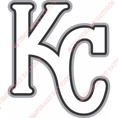 Kansas City Royals Customize Temporary Tattoos Stickers NO.1620