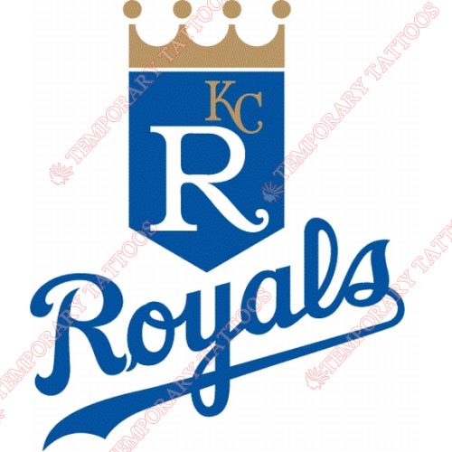 Kansas City Royals Customize Temporary Tattoos Stickers NO.1622