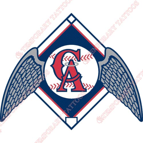 Los Angeles Angels of Anaheim Customize Temporary Tattoos Stickers NO.1634