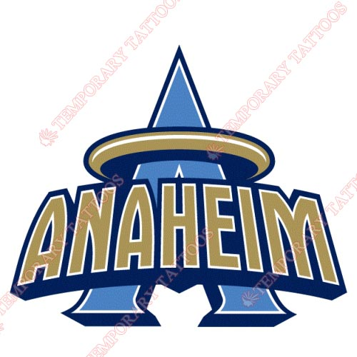 Los Angeles Angels of Anaheim Customize Temporary Tattoos Stickers NO.1635