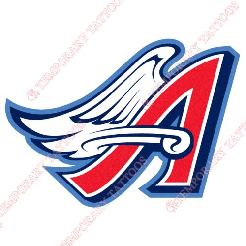 Los Angeles Angels of Anaheim Customize Temporary Tattoos Stickers NO.1636
