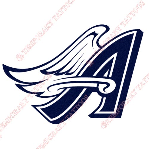 Los Angeles Angels of Anaheim Customize Temporary Tattoos Stickers NO.1643