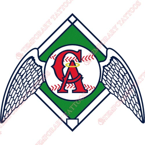 Los Angeles Angels of Anaheim Customize Temporary Tattoos Stickers NO.1646