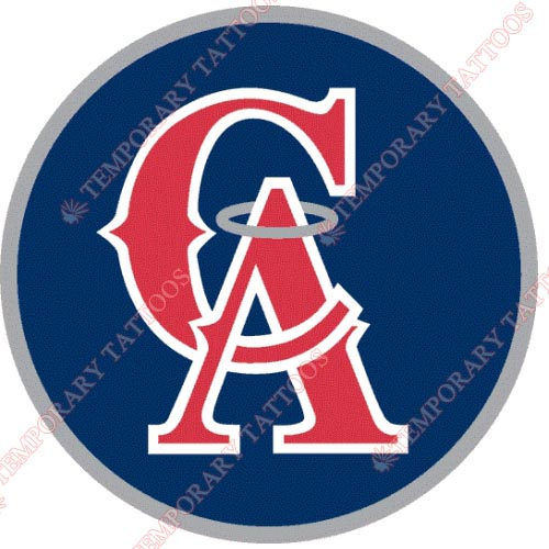 Los Angeles Angels of Anaheim Customize Temporary Tattoos Stickers NO.1650