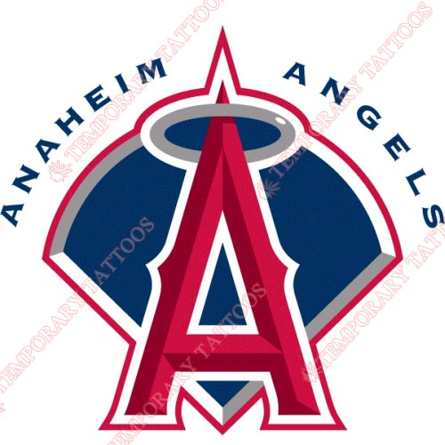 Los Angeles Angels of Anaheim Customize Temporary Tattoos Stickers NO.1653