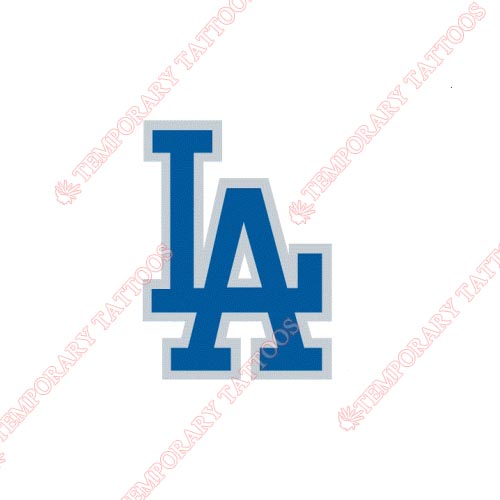Los Angeles Dodgers Customize Temporary Tattoos Stickers NO.1675