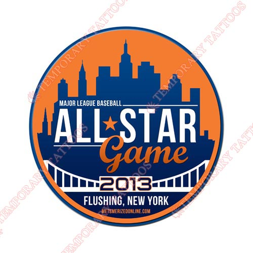 MLB All Star Game Customize Temporary Tattoos Stickers NO.1252