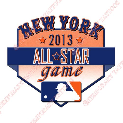 MLB All Star Game Customize Temporary Tattoos Stickers NO.1259