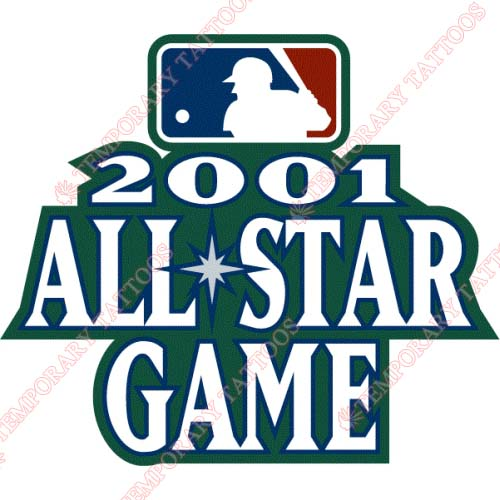 MLB All Star Game Customize Temporary Tattoos Stickers NO.1274