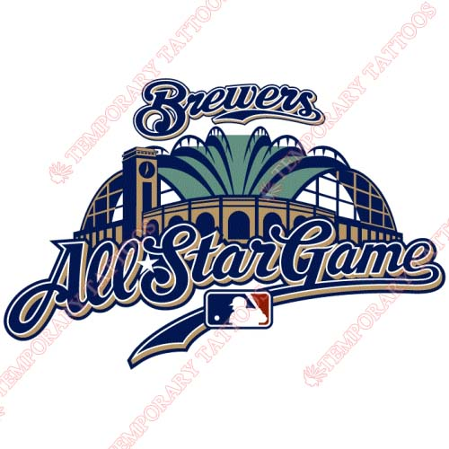 MLB All Star Game Customize Temporary Tattoos Stickers NO.1275