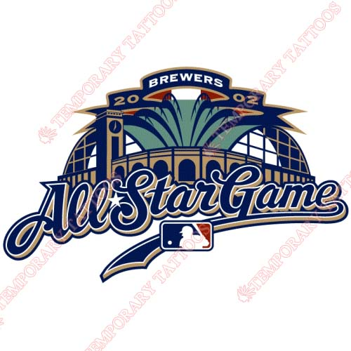 MLB All Star Game Customize Temporary Tattoos Stickers NO.1276