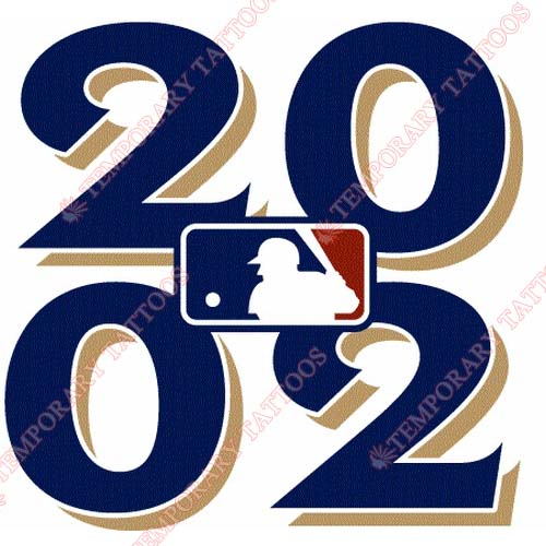 MLB All Star Game Customize Temporary Tattoos Stickers NO.1277