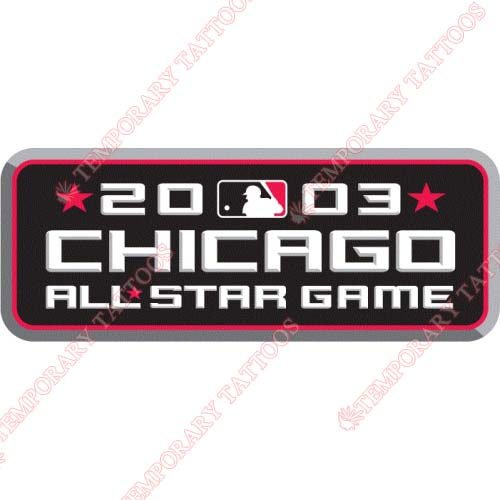 MLB All Star Game Customize Temporary Tattoos Stickers NO.1278