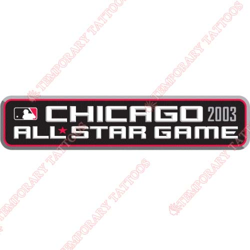 MLB All Star Game Customize Temporary Tattoos Stickers NO.1279