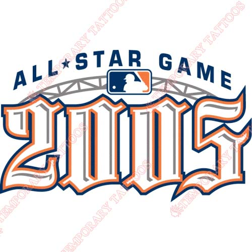 MLB All Star Game Customize Temporary Tattoos Stickers NO.1281