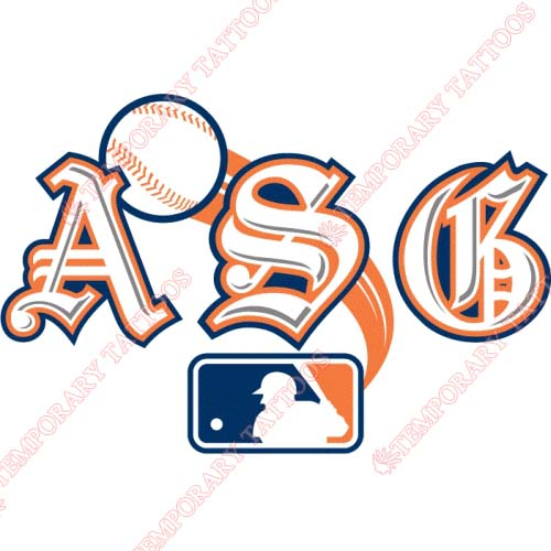 MLB All Star Game Customize Temporary Tattoos Stickers NO.1282