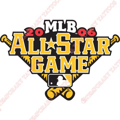 MLB All Star Game Customize Temporary Tattoos Stickers NO.1283