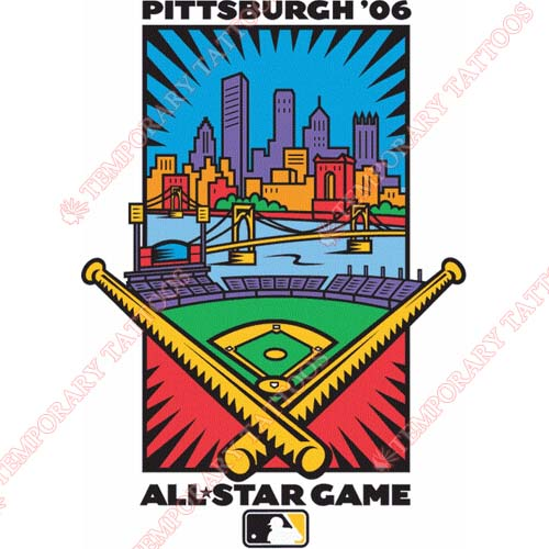 MLB All Star Game Customize Temporary Tattoos Stickers NO.1284