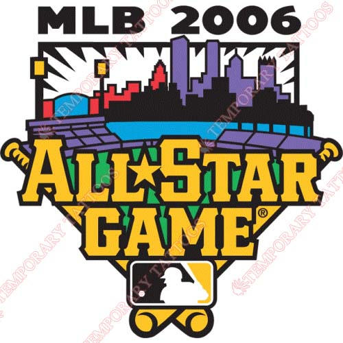 MLB All Star Game Customize Temporary Tattoos Stickers NO.1285