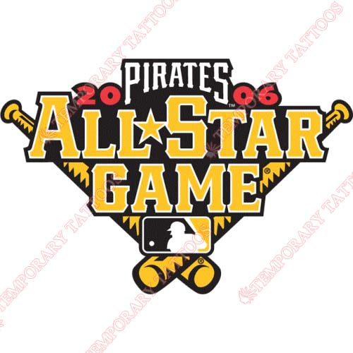 MLB All Star Game Customize Temporary Tattoos Stickers NO.1286