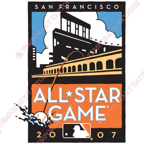 MLB All Star Game Customize Temporary Tattoos Stickers NO.1289
